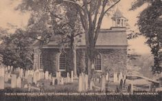 Old Dutch Church and Sleepy Hollow Cemetery by FunerealEphemera, $10.00