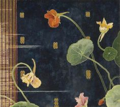CRESSIDA CAMBEL Floral Illustrations, Illustration Art, Contemporary Australian Artists, Watercolor On Wood, Floral Artwork, Whimsical Art, Botanical Art, Gravure, Japanese Art