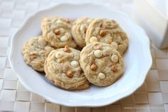butterscotch cookies- these cookies are super soft and taste best fresh out of the oven!