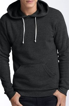 Alternative 'Hoodlum' Trim Fit Hoodie | Nordstrom