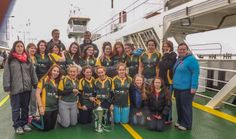 RBS Six Nations Trophy with Listowel Ladies Rugby 2014