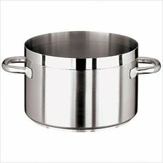 "World Cuisine 11107-40 32.5-qt Sauce Pot, Stainless, Each by World Cuisine. $482.72. World Cuisine 11107-40 32.5-qt Sauce Pot, Stainless. Sauce Pot, 32-1/2 quart, 15-3/4"" diameter x 9-5/8"" H, w/o lid, stainless steel, welded handle, induction compatible, Grand Gourmet Series #1100, NSF"