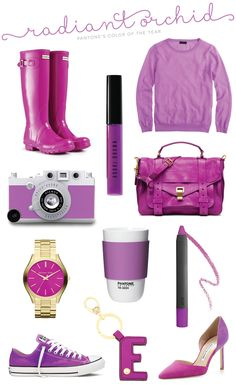Radiant Orchid for Spring Roundup