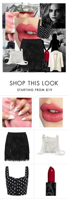 """""""Bez naslova #16"""" by ellviisa-besic ❤ liked on Polyvore featuring Charlotte Tilbury, Alice + Olivia and Candie's"""