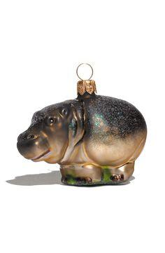 Hippo ornament