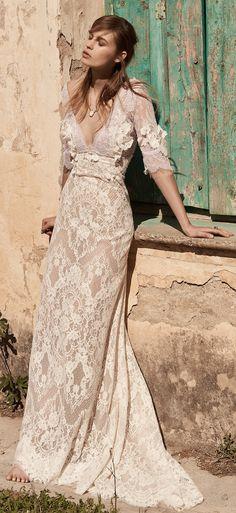 Costarellos Spring 2018 Wedding Dress Collection