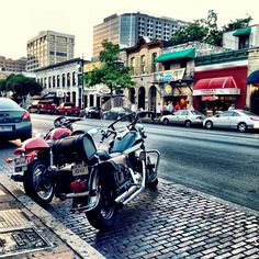 Sixth Street in Austin, Texas . Lots of things to do on this street.....Driscoll Hotel, etc., etc.