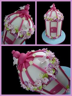 bird cage cake class inspired by michelle cake designs