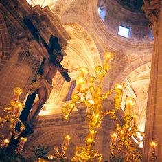 Cristo de la Defensión en el paso del Santo Crucifijo de la Salud. Via Crucis UU.HH. Año de la fé. 17/02/2013.