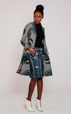 Fainting: Demestiks NY - New Collection | African Prints in Fashion