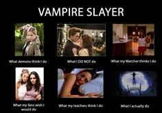 """Honestly the pic of Bella and Edward could easily be replaced with Angel and Buffy or Spike and Buffy and the words """"What I Should Not Do"""""""