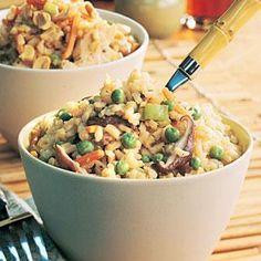 Vegetable Fried Rice Recipe | MyRecipes.com