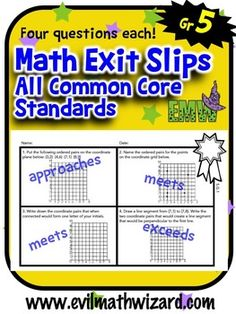 7th grade math, Common cores and Worksheets on Pinterest