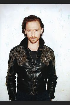 Tom Hiddleston - I want that jacket and I want the man in the jacket too!!!