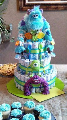 It's A Boy! Monster's Inc. Diaper Cake