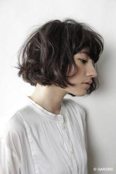 パリジェンヌのようなヘアスタイル3