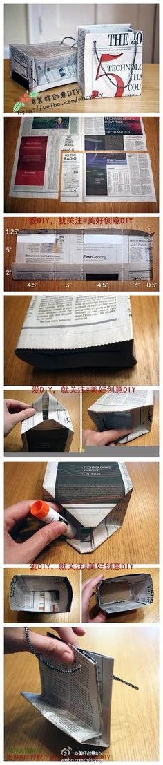 DIY and Crafts photo | DIY and Crafts photos. DIY, crafts, tutorial, decoration, creative, idea, bag, paper bag