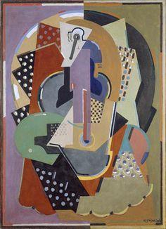 Albert Gleizes, 1920-23, Ecuyère, oil on canvas, 130 x 93 cm, Musée des…