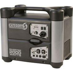 Category 5 Portable Inverter Generator - 2000 Watt, CARB-Compliant, Model# 73537i