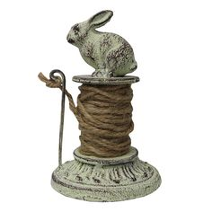 Bunny Paperweight with String - Green Garden - on Temple & Webster today twine holder Bunny Art, Cute Bunny, Rabbit Art, Bunny Rabbit, Objets Antiques, Rabbit Sculpture, Peter Rabbit, Illustrations, Alice In Wonderland