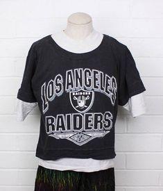 e05c611eb0c Los Angeles Raiders football vintage workout gear mens t-shirt by  Nack4Vintag.