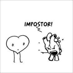 ¡Impostor!
