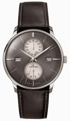 Junghans Meister Agenda calendar watch anthracite dial - Perpetuelle