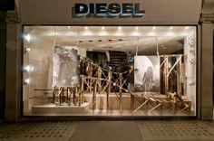 DIESEL Window Display | Rollercoaster by Millington Associates | Visual Merchandising & Display Award Winner '11 - Most Outstanding Prop