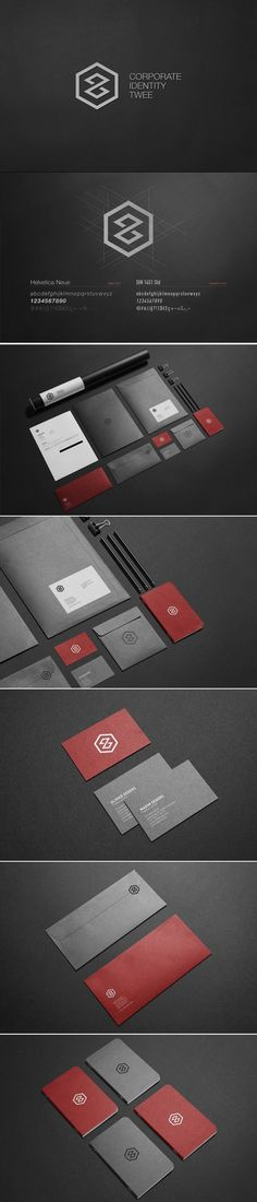 Twee Corporate Identity and Logo Design. #Branding #CorporateIdentity #LogoDesign