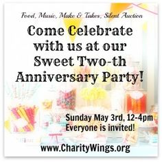 Anniversary Party 2015 Anniversary Parties, Charity, Wings, Events, Invitations, How To Make, Save The Date Invitations, Feathers, Invitation