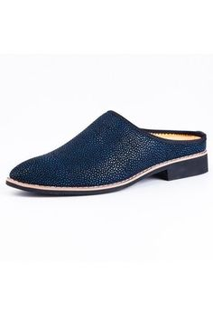 PATHFINDER Men's Casual Slipper Mules Leather Shoes (Blue) | ราคา: ฿781.90 | Brand: Pathfinder | See info: http://www.topsellershoes.com/product/37966/pathfinder-mens-casual-slipper-mules-leather-shoes-blue