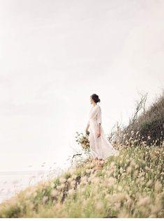 Romantische Braut Inspirationen an hawaiianischer Küste