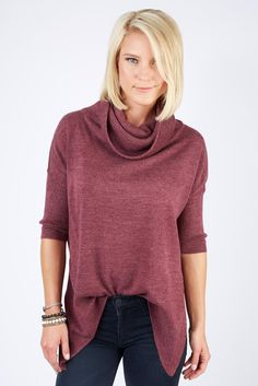 BRAEVE Cowl Neck Sweater. This is pretty...maybe in another color?