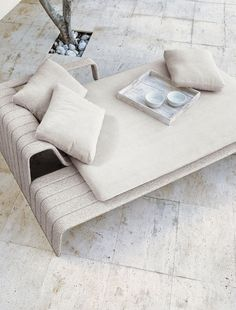 | FURNITURE | great lounge seating by PaolaLenti - #outdoor #furniture