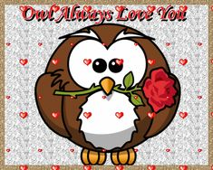 "Hoo doesn't love an owl sending them a little lovin'. Free online ""Owl"" Always Love You ecards on Love Flirting Quotes For Her, Flirting Texts, Flirting Humor, Husband Valentine, Valentines, Love Ecards, Sugar Daddy Dating, After Work Drinks, Girl Truths"