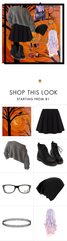 """Untitled #1"" by sarirtaomais ❤ liked on Polyvore featuring Polo Ralph Lauren and Ray-Ban"