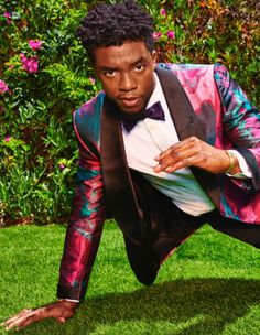 Black Panther Chadwick Boseman, African American Actors, All Things Work Together, Male Face, My King, Fashion 2020, Black History, A Good Man, Dapper