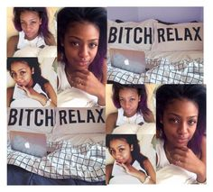 """""""Bed!//Tyler"""" by deasia-still-thugin-honey ❤ liked on Polyvore featuring beauty"""