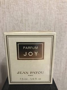 Joy Jean Patou 7.5ml. Perfume Vintage by MyScent on Etsy