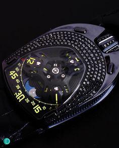Urwerk UR106 Lotus in Black.