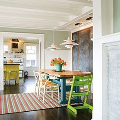 bungalo charm mixed with modern retro