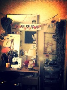My crafts room peace and quite