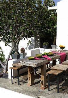 Wonderful 10 Best Summer Tables | Camille Styles Rustic Table, Rustic Outdoor, Outdoor  Decking,
