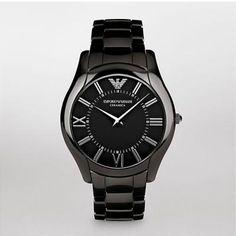 c954bc3b3b3 Emporio Armani Mens Watch AR1440 Super Slim Ceramic Iwc Watches