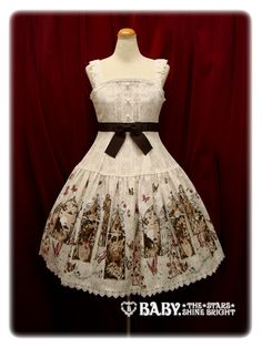 AatP 2010 - A Midsummer Night's Dream Print JSK I in Ivory (I will pay $200 USD for lightly used // size 88cm bust) ☆