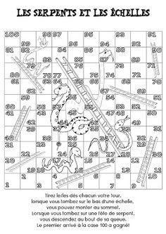 La maternelle de Laurène: Les serpents et les échelles