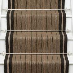 Neutral and Black Runners - Roger Oates Design Black Runners, Carpet Runner, Neutral, Blanket, Rugs, Stairs, Flooring, Inspired, Design