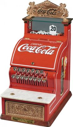 Coca-Cola National Cash Register Slick Model