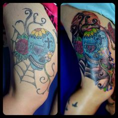 My Work cover up Tattoo
