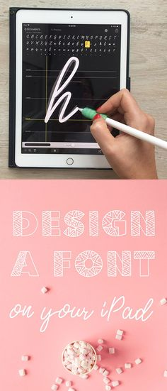 Create Fonts on Your iPad in a Few Easy Steps + 3 Free Fonts - In this class, I'll show you every step of how to create unique custom fonts using iFont Maker. We'll cover the step by step process for creating three different styles of fonts, so that you c Inkscape Tutorials, Art Tutorials, Ipad Kunst, Create Font, Nice Handwriting, Handwriting Styles, Der Computer, Affinity Designer, Ipad Art